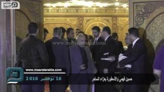 مصر العربية   حسين فهمى والأسطورة بعزاء الساحر