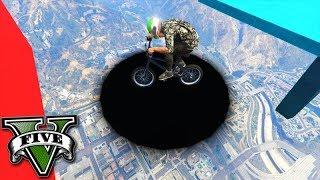 GTA V Online: O PORTAL DE BMX?!!! SKILL TEST DIF�CIL