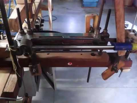 Hand loom converted into power loom by pneumatic cylinder technology