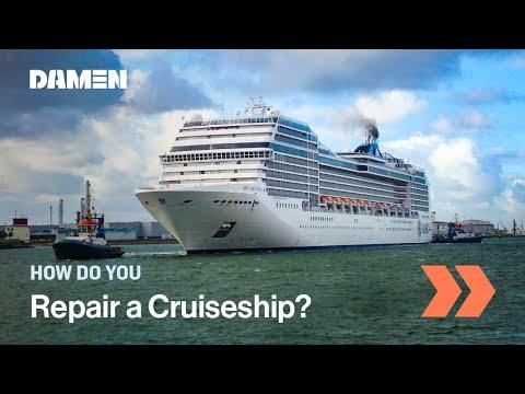 Damen Shiprepair Rotterdam - MSC Magnifica 2014