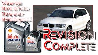 🛠🔧 Révision moteur complète sur bMW 120D☢☡