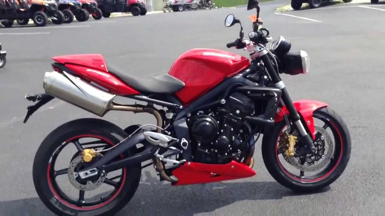 2012 triumph 675 street triple r youtube. Black Bedroom Furniture Sets. Home Design Ideas