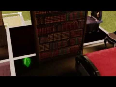 Sims 3 Supernatural Glitch Cat And The Bookcase Door