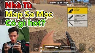 Lâm Gamer - Thử Vào Khu Vực Nhà Tù Map Sa Mạc   Chơi Game Cùng Gái   Dou vs Squad PUBG Mobile