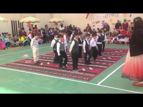 Arab version of ghangnam style dane#jahra bilingual academy kuwait#G1A2016 international day