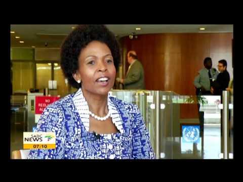 Nkoana-Mashabane talks peaceful resolutions for Africa