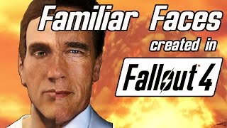 Familiar Faces #3 | Fallout 4 Character Creator