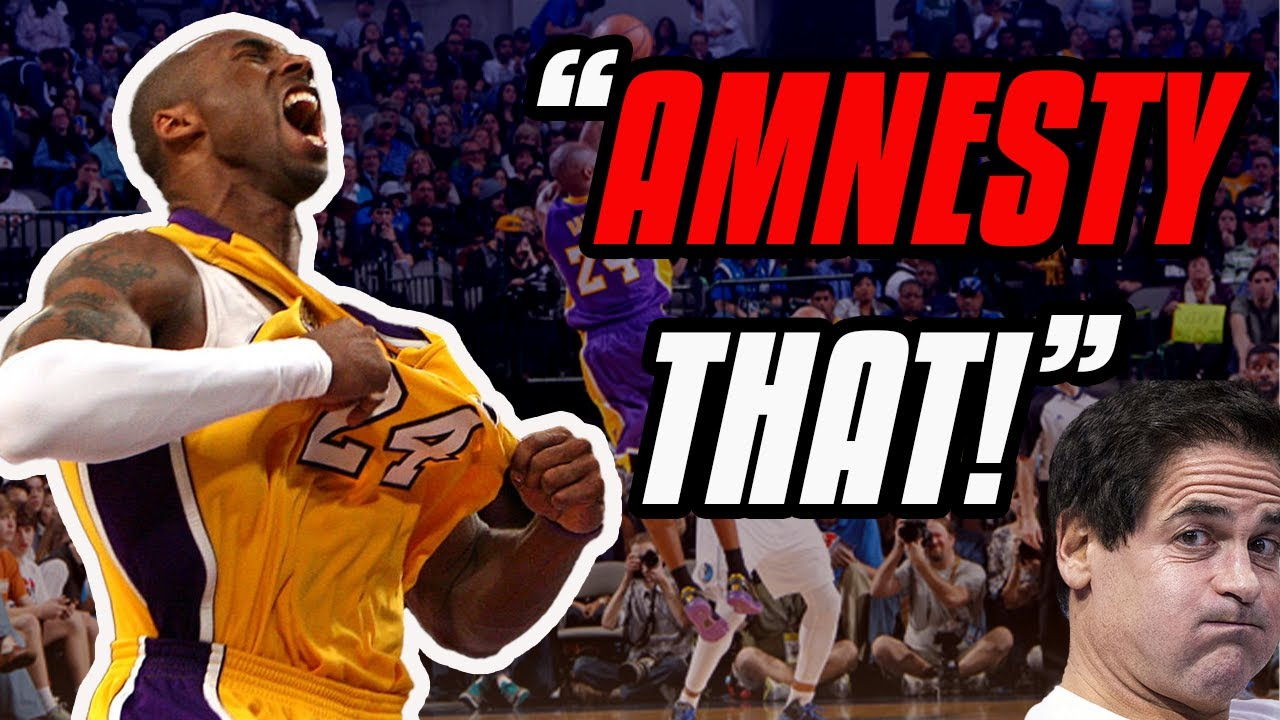The Time Kobe Bryant HUMILIATED The Dallas Mavericks | Kobe's Amnesty Game
