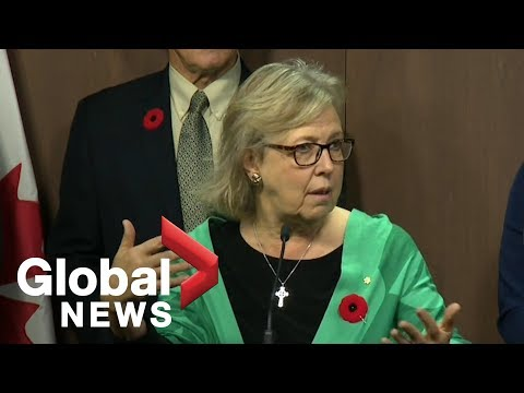 Elizabeth May Steps Down As Leader Of The Green Party Of Canada