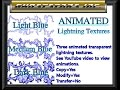 Second Life - Animated Transparent Lightning Texture (Marketplace)