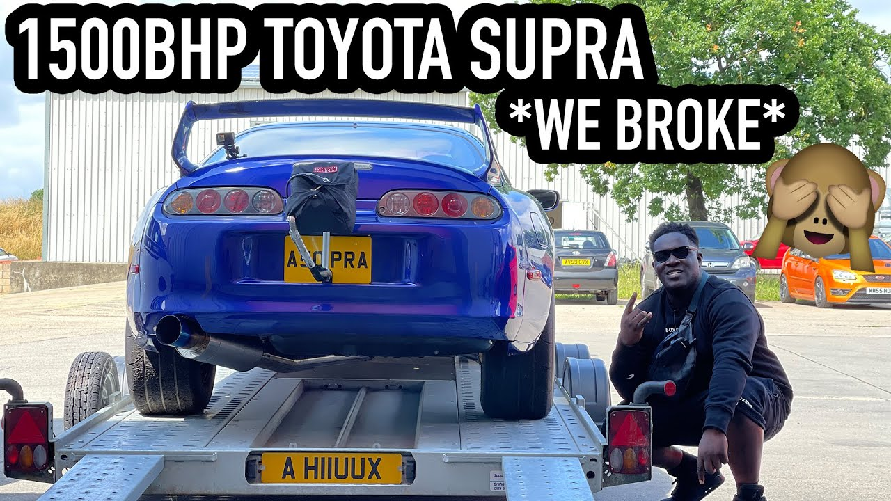 THIS *1500 BHP SEQUENTIAL* TOYOTA SUPRA IS TERRIFYING