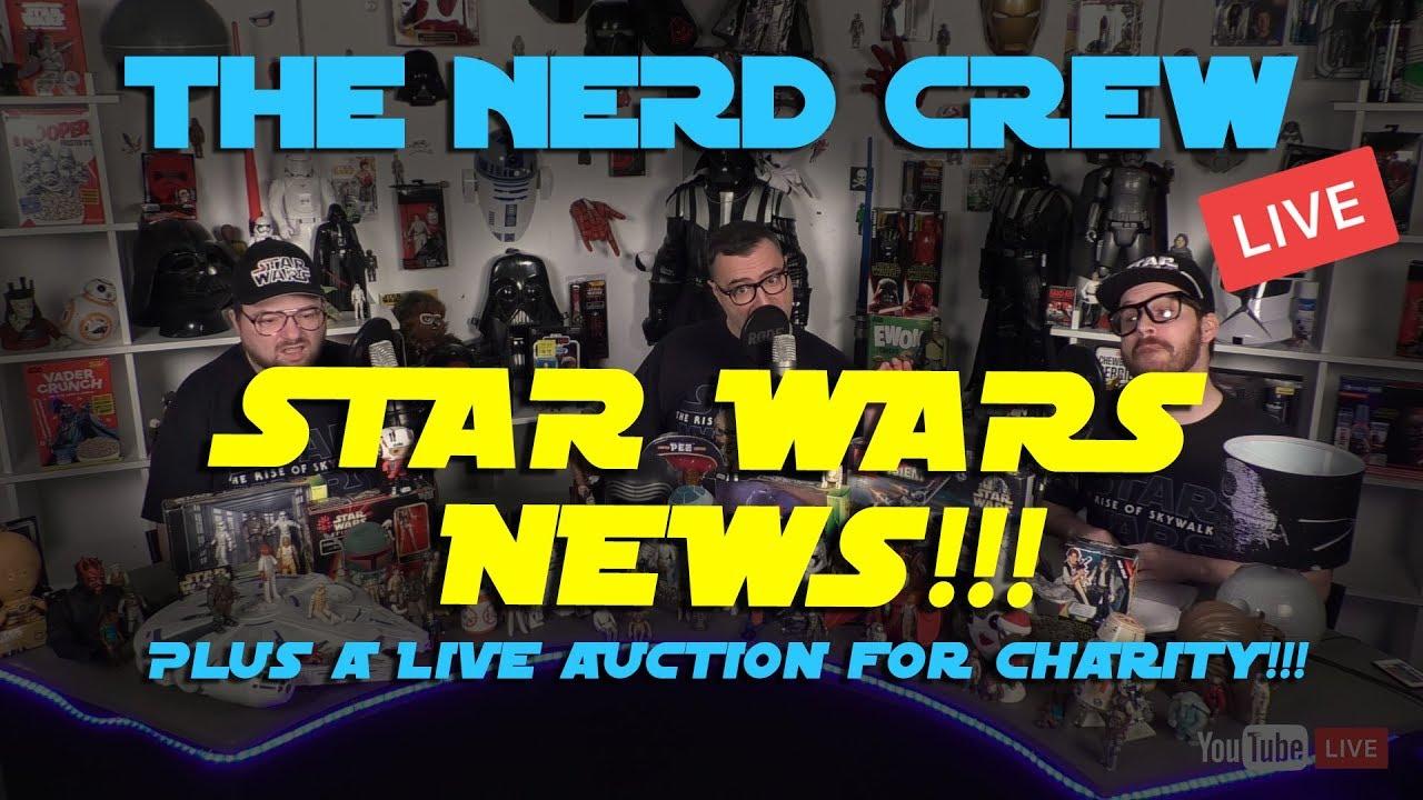 The Nerd Crew Review STAR WARS NEWS!!!