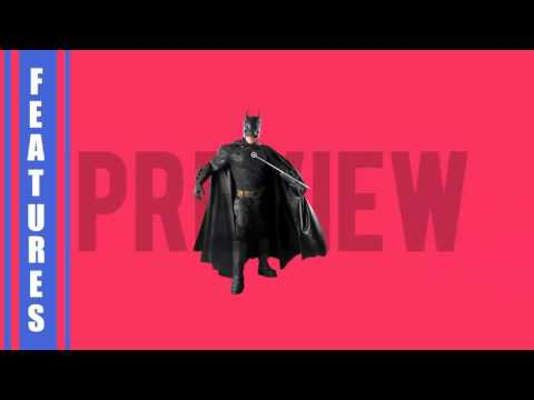 Male Adult - Batman Dark Knight Costume Preview