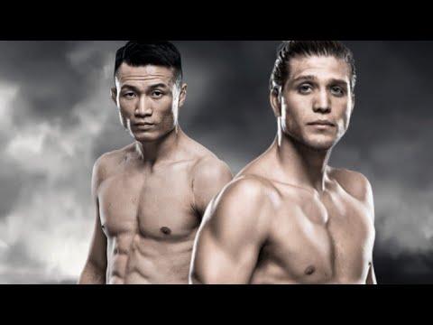 Корейский Зомби VS Брайан Ортега прогноз на UFC.