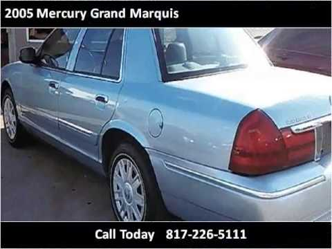 2005 mercury grand marquis used cars arlington tx youtube. Black Bedroom Furniture Sets. Home Design Ideas
