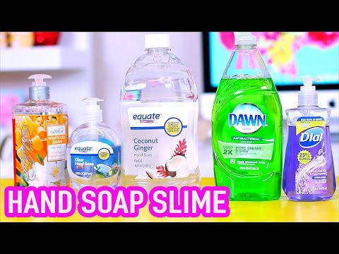 Thumbnail: Handsoap Slime Test 2 without liquid starch, borax, corn starch, and glue