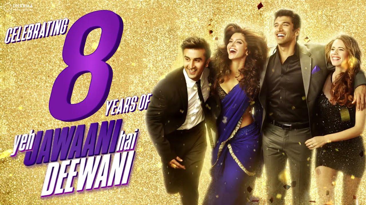 Celebrating 8 Years Of #YehJawaaniHaiDeewani | Ranbir Kapoor | Deepika Padukone