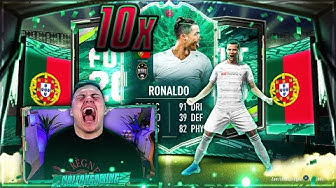 FIFA 20: C. RONALDO Shapeshifter in EUREN PACKS!! 10 x Garantierte Shapeshifter Packs