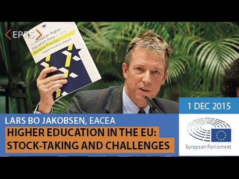 EUI Higher Education in the EU, Presentation by Lars Bo JAKOBSEN, 1 December 2015