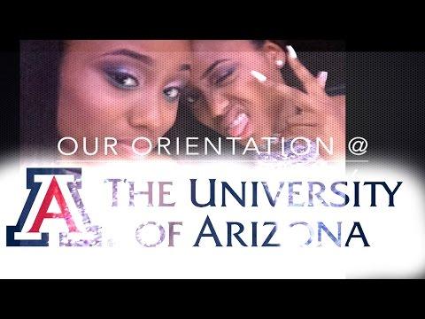 Our Orientation Day at The University of Arizona |#BearDown