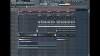 FL Studio 10 - создаем progressive house с нуля. (новый видео урок)
