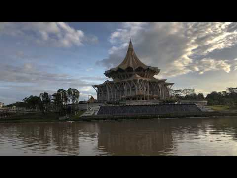 Kuching Waterfront | 4K