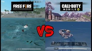 Garena Free Fire vs Call of Duty Mobile Comparison. Which is best?