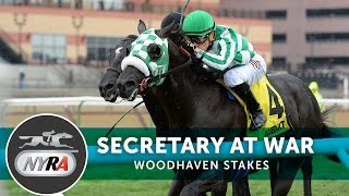 Secretary At War - 2017 Woodhaven Stakes
