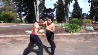 Real Men Fight and Forget