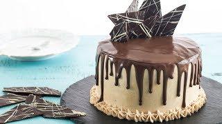 chocolate vertical layer cake