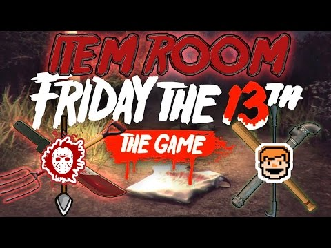 Friday the 13th: The Game | Virtual Cabin ITEM ROOM & SECRETS! [First Reaction]