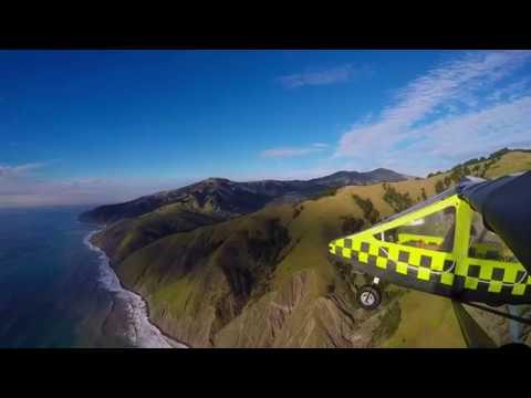 scenic coastal flight - CGS Hawk