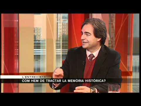 TV3 - Jordi Palou-Loverdos, director del Memorial Democràtic, a l'entrevista del 324