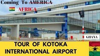 Inside Ghana's New Kotoka International Airport Terminal 3