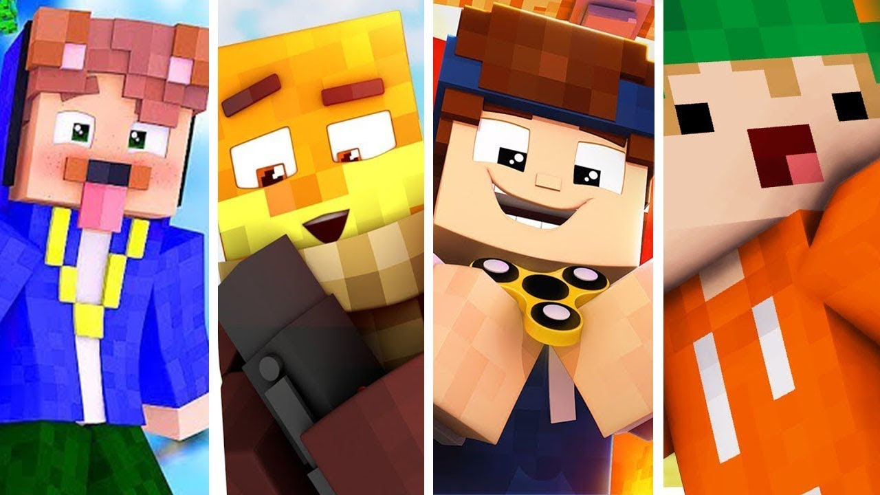 TOP 10 MINECRAFT SKINS - YouTube