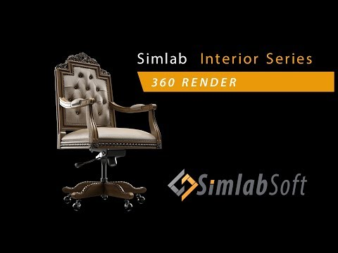 SLC Interior training series / Part 5 (render 360 image)