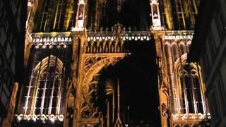Cathédrale Notre-Dame de Strasbourg 1 Страсбургский собор(Страсбургский собор ночью. Июль., 2011-09-16T20:44:50.000Z)