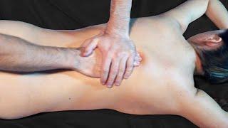 Выжимание. Уроки классического массажа.  Squeezing. Lessons of classical massage
