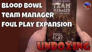 Unboxing: Blood Bowl Team Manager: Foul Play Expansion