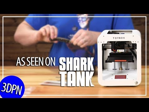 Toybox 3D Printer As Seen On SHARK TANK