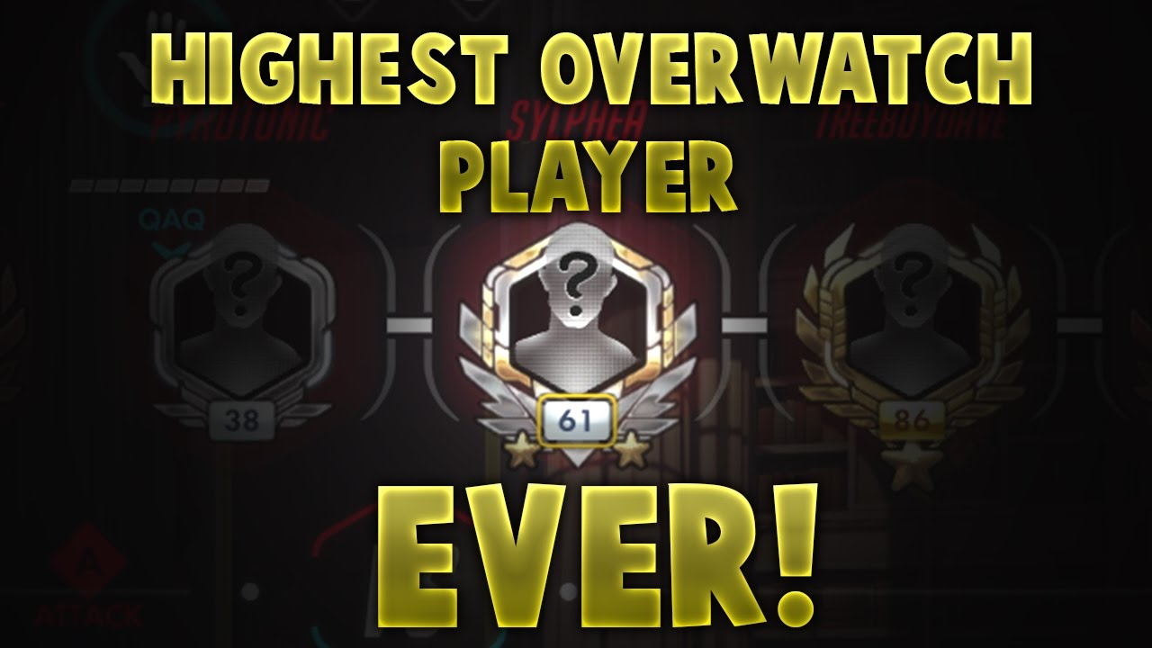 overwatch in game with highest rank ever level 2063 youtube