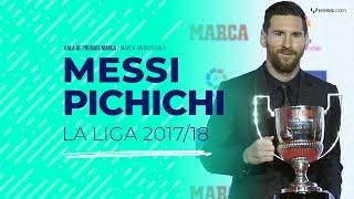 Leo Messi, Pichichi de La Liga 2017/18