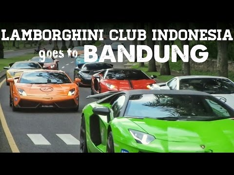 LAMBORGHINI CLUB INDONESIA goes to Bandung 2017