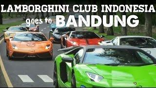 LAMBORGHINI CLUB INDONESIA goes to Bandung 2017