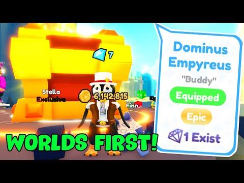 WORLDS FIRST DOMINUS EMPYREUS (Secret Egg!)   Pet Simulator X