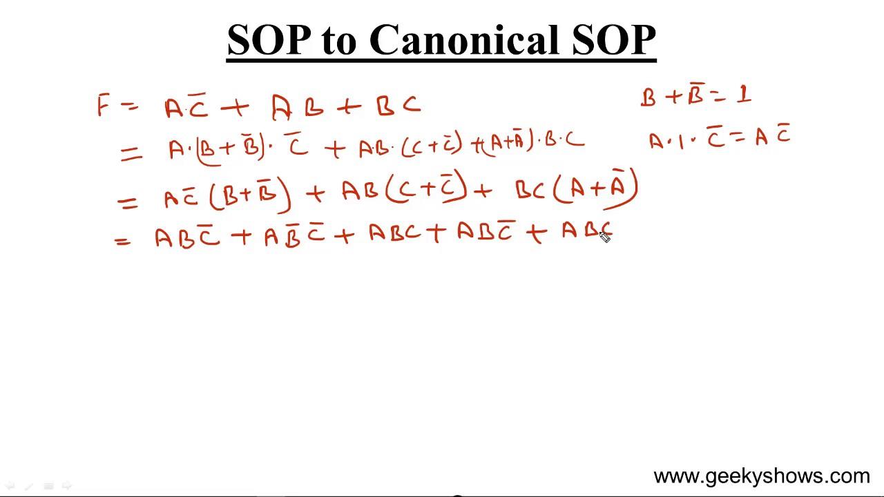 Convert SOP To Canonical Hindi