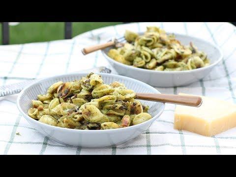 Quick & Easy Crispy Pasta With Broccoli