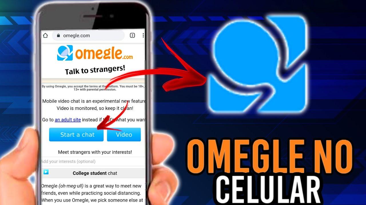 Como usar o OMEGLE no CELULAR - YouTube