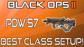 black ops 2 pdw 57 best class setup rushing