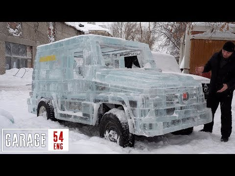 5 TONS of ICE for the UAZ-based G-wagon
